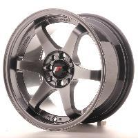 Jantes alu Jante 15 JR3 15x8 ET25 4x100-108 Noir Japan Racing