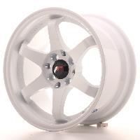 Jantes alu Jante 15 JR3 15x8 ET25 4x108-100 Blanc Japan Racing