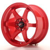 Jantes alu Jante 15 JR3 15x8 ET25 4x108-100 Rouge Japan Racing