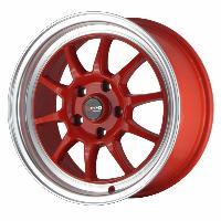 Jantes alu Jante 16 DR16 16x7 ET40 4x100 Rouge - Drag Wheels
