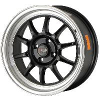 Jantes alu Jante 16 DR16 16x7 ET40 5x114.3 Noir - Drag Wheels