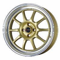 Jantes alu Jante 17 DR16 17x7 ET40 4x100 Or - Drag Wheels