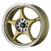 Jantes alu Jante 17 DR17 17x7 ET40 5x100-114.3 Or - Drag Wheels
