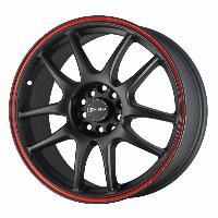 Jantes alu Jante 17 DR31 17x8 ET47 5x100-114.3 Noir - Drag Wheels