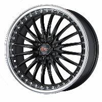 Jantes alu Jante 17 DR36 17x7.5 ET42 4x100-114.3 Noir - Drag Wheels