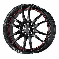 Jantes alu Jante 17 DR38 17x8 ET47 5x100-114.3 Noir - Drag Wheels