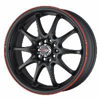 Jantes alu Jante 17 DR9 17x7 ET40 4x100-114.3 Noir - Drag Wheels