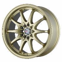 Jantes alu Jante 17 DR9 17x8 ET47 5x100-114.3 Or mat - Drag Wheels