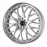 Jantes alu Jante 18 DR19 18x7.5 ET45 5x100-114.3 Argent - Drag Wheels