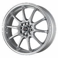 Jantes alu Jante 18 DR9 18x7 ET40 5x100-114.3 Argent - Drag Wheels