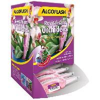 Jardin - Piscine ALGOFLASH - Engrais revitalisant orchidées monodose 30ml