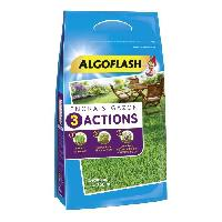 Jardin - Piscine ALGOFLASH Engrais Gazon 3 Actions - 10 kg