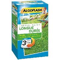 Jardin - Piscine ALGOFLASH Engrais Gazon Longue durée 3 mois - 3.6kg
