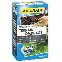 Jardin - Piscine ALGOFLASH Semences gazon terrain ombragé - 900 g