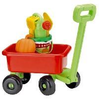 Jardinage - Brouette ECOIFFIER Chariot Retro Jardin Garni