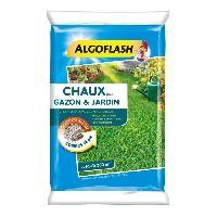 Jardinage ALGOFLASH Chaux pour gazon et jardin - 10 kg