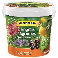 Jardinage ALGOFLASH Engrais Algocote Agrumes et Plantes Mediterraneennes - 600g