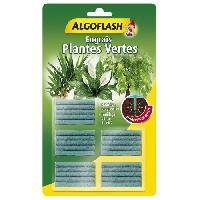 Jardinage ALGOFLASH Engrais Batonnets Plantes vertes - 25 batonnets