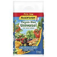 Jardinage ALGOFLASH Engrais Bleu Universel - 6kg - Prix choc