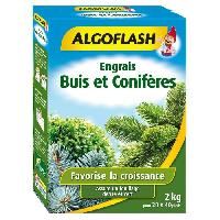 Jardinage ALGOFLASH Engrais Buis et Coniferes - 2kg