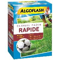 Jardinage ALGOFLASH Engrais Gazon Action Rapide - 4kg