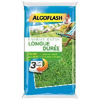 Jardinage ALGOFLASH Engrais Gazon Longue durée 3 mois - 12.5kg