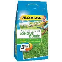 Jardinage ALGOFLASH Engrais Gazon Longue durée 3 mois - 5.75kg