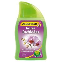 Jardinage ALGOFLASH Engrais Orchidees - 375 ml