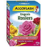 Jardinage ALGOFLASH Engrais Rosiers - 4 kg