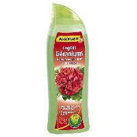 Jardinage ALGOFLASH Engrais geraniums et toutes fleurs de balcon - 750 ml