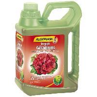 Jardinage ALGOFLASH Engrais geraniums et toutes fleurs de balcons - 2.5L