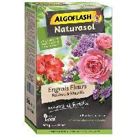 Jardinage ALGOFLASH NATURASOL Engrais Fleurs. rosiers et massifs - 800 g