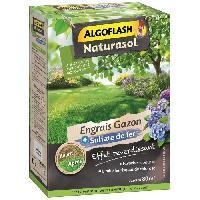 Jardinage ALGOFLASH NATURASOL Engrais Gazon + Sulfate de fer - 3.2kg