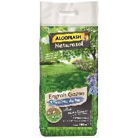 Jardinage ALGOFLASH NATURASOL Engrais Gazon + Sulfate de fer - 7.2kg