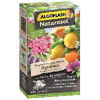 Jardinage ALGOFLASH NATURASOL Engrais agrumes et plantes méditerranéennes longue durée - 800 g