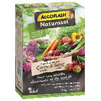 Jardinage ALGOFLASH NATURASOL Engrais contenant de la corne torrefiee et sang seche - 1.5 kg