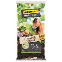 Jardinage ALGOFLASH NATURASOL Fumier de cheval - 15kg