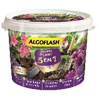 Jardinage ALGOFLASH Nutriplant' 5-en-1 avec engrais - Tous types de plantes - 1.5 Kg