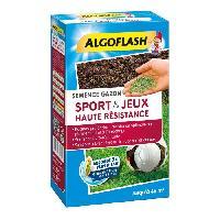 Jardinage ALGOFLASH Semences gazon terrain de sport et jeux - Haute resistance - 1 Kg