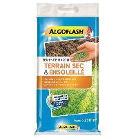 Jardinage ALGOFLASH Semences gazon terrain sec et ensoleillé - 5 Kg