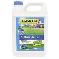 Jardinage ALGOFLASH Sulfate de fer liquide - 5 L