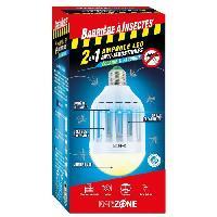 Jardinage BARRIERE A INSECTES Etui 1 Ampoule LED Barzone anti-moustiques 2-en-1