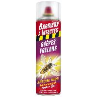 Jardinage BARRIERE A INSECTES Guepes. frelons Spécial nids - Aérosol 500 ml