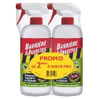 Jardinage BARRIERE A INSECTES Insectes rampants. volants et acariens - Pret a l'emploi - Lot PROMO de 2x1 L