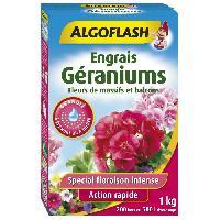 Jardinage Engrais Géraniums. Fleurs de Massifs et Balcons 1 kg