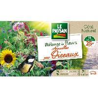 Jardinage LE PAYSAN Mélange de 15 variétés de fleurs annuelles pour oiseaux Aucune