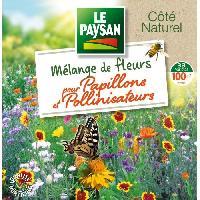 Jardinage LE PAYSAN Mélange de 33 fleurs pour papillons et pollinisateurs Aucune