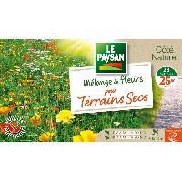 Jardinage LE PAYSAN Mélange de fleurs pour Terrains Secs Aucune