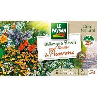 Jardinage LE PAYSAN Mélange de fleurs pour limiter les pucerons du potager Aucune