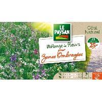 Jardinage LE PAYSAN Melange de fleurs pour zones ombragees - 25 varietes Aucune